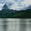 Mt Rotui on Moorea