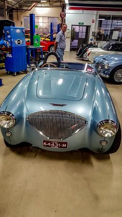 Austin Healy, same car as in previous photo