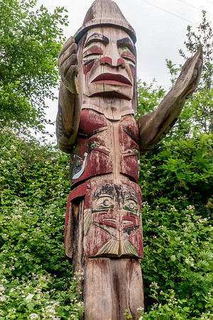 First Nations Welcome Figure