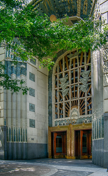 Marine Building Entrance