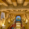 Coffered Lobby Ceiling - Marine Building