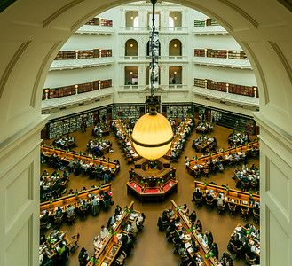 Reading Room - from 3rd floor