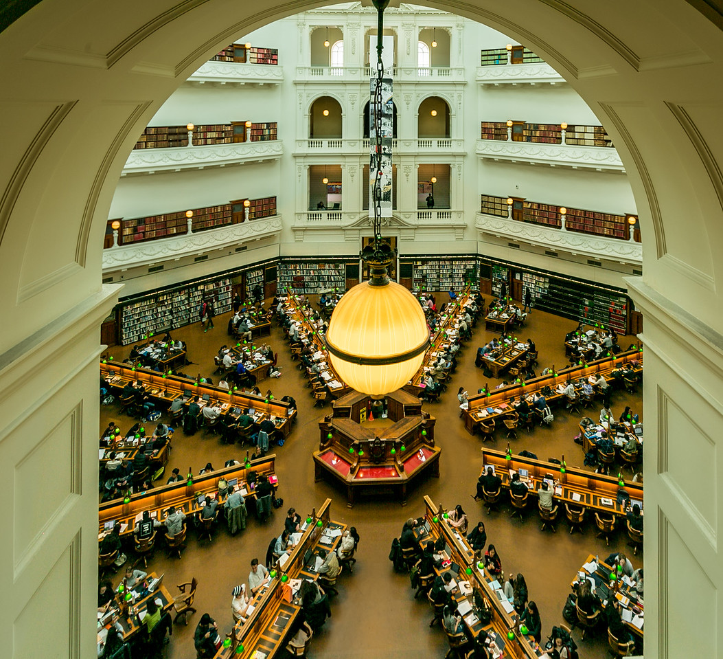 Reading Room - from 3rd floor