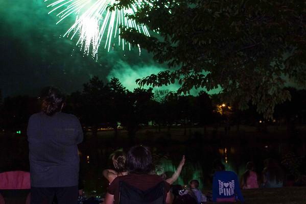 160704 Hyde Park Fireworks 1