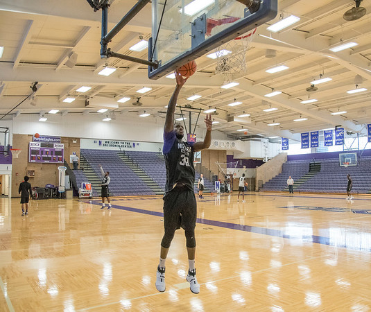 Niagara University mens basketball player Ali Tew