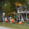 Spooky corner at Franklin and Town Line Road in Sanborn.