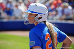 Florida Gators outfielder Kirsti Merritt as the #1 ranked Florida Gators softball team defeats the Illinois State Redbords 11-1 at Katie Seashole Pressly Softball Stadium.  March 6th, 2016. Gator Country photo by David Bowie.