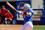 Florida Gators third baseman Taylore Fuller as the #1 ranked Florida Gators softball team defeats the Illinois State Redbords 11-1 at Katie Seashole Pressly Softball Stadium.  March 6th, 2016. Gator Country photo by David Bowie.