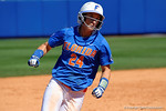 Florida Gators outfielder Kirsti Merritt rounds third base as the #1 ranked Florida Gators softball team defeats the Illinois State Redbords 11-1 at Katie Seashole Pressly Softball Stadium.  March 6th, 2016. Gator Country photo by David Bowie.