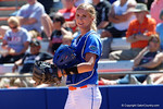Florida Gators catcher Aubree Munro flashes a smile as the #1 ranked Florida Gators softball team defeats the Illinois State Redbords 11-1 at Katie Seashole Pressly Softball Stadium.  March 6th, 2016. Gator Country photo by David Bowie.