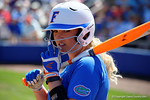 Florida Gators first baseman Kayli Kvistad as the #1 ranked Florida Gators softball team defeats the Illinois State Redbords 11-1 at Katie Seashole Pressly Softball Stadium.  March 6th, 2016. Gator Country photo by David Bowie.