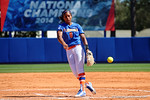 Florida Gators pitcher Aleshia Ocasio pitched a complete game as the #1 ranked Florida Gators softball team defeats the Illinois State Redbords 11-1 at Katie Seashole Pressly Softball Stadium.  March 6th, 2016. Gator Country photo by David Bowie.