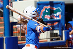 Florida Gators utility player Nicole DeWitt at the plate as the #1 ranked Florida Gators softball team defeats the Illinois State Redbords 11-1 at Katie Seashole Pressly Softball Stadium.  March 6th, 2016. Gator Country photo by David Bowie.