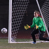Nashoba Keeper Theresa Don comes up with a huge save on a 1st half penalty kick by Wachusett in the Div I Soccer Championship Game. Nashoba won on PKs. SENTINEL & ENTERPRISE / Jim Marabello