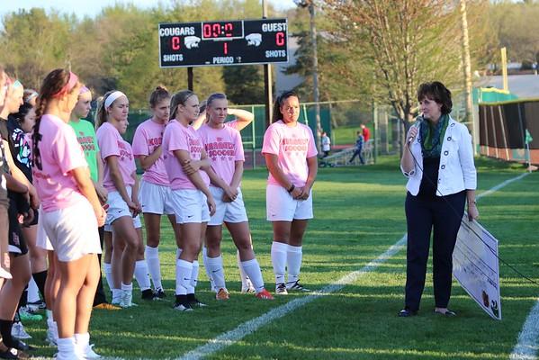 Linn-Mar vs. Kennedy Girls' Soccer 4/21/16