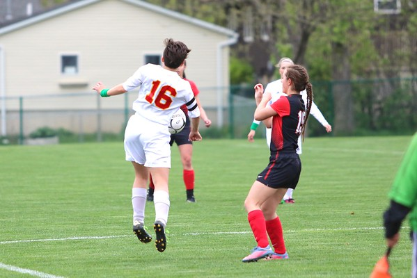 Marion vs. Williamsburg Girls' Soccer 4/29/16