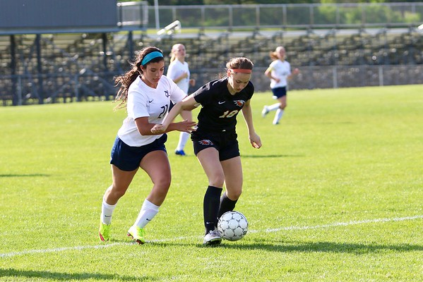 Prairie vs. Xavier Girls' Soccer 5/17/16