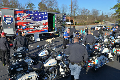 Participants ride 92 miles from Columbus, Ga., to Montgomery, Al, during the 2016 UnitedHealthcare Gulf Coast Challenge. As a 501(c)(3) organization, Ride 2 Recovery restores hope and purpose for injured active duty service members, veterans, first responders and their families by  improving their health and wellness through individual and group cycling.