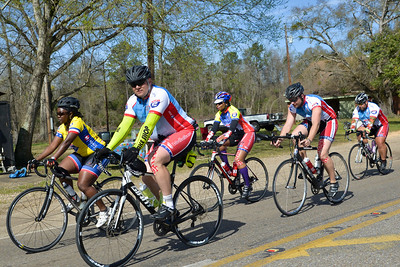 Participants ride 54 miles from Selma to Greenville, Al., during the 2016 UnitedHealthcare Gulf Coast Challenge.  As a 501(c)(3) organization, Ride 2 Recovery restores hope and purpose for injured active duty service members, veterans, first responders and their families by  improving their health and wellness through individual and group cycling.