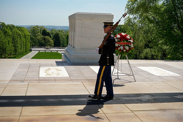 May 2016 Arlington Cemetery and Womens Museum
