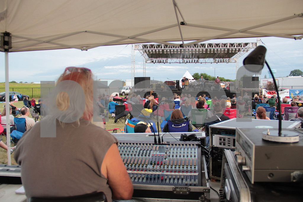 View from mix position