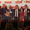 1616 Center project members accept their Commercial Real Estate Award.