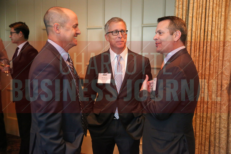 Ken Beuley of The Keith Corp. network at the Heavy HItters of Commercial Real Estate Awards.