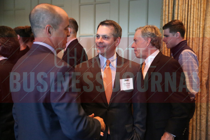 Paul DeVine of Childress Klein networks before the Heavy HItters of Commercial Real Estate Awards.