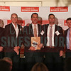 Movement Mortgage project participants accept their Commercial Real Estate Award.
