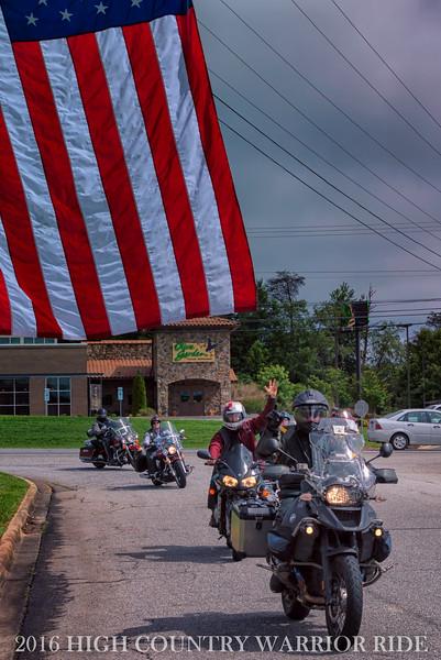 Franklin Graham under our flag!