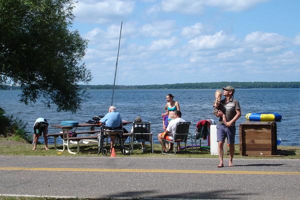 Mom's 90th at the Lake 2010