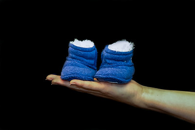 20160403 New shoes for Brett & Erica's baby  IMG_2513