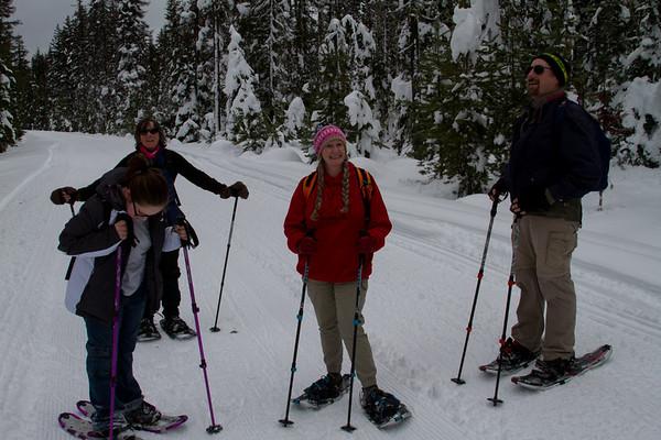 2016-01-09 Snowshoeing @ Bumping Lake