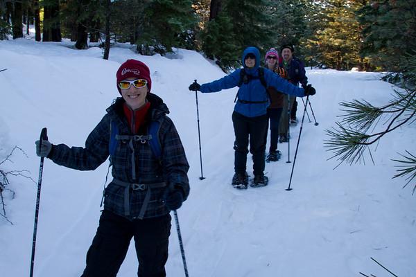 2016-01-24 Snowshoeing @ Rimrock Penninsula