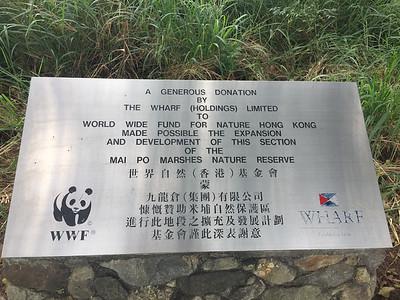 Mai Po wetlands