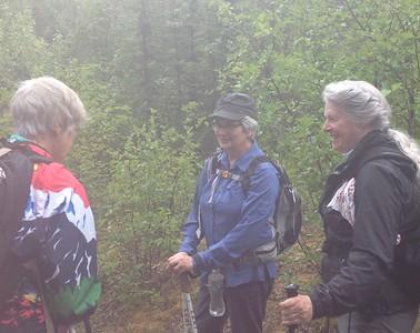 Did someone say rain? Sylvia, Norma, Sally