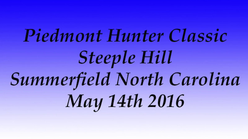 Rider 112 Steeple Hill May 14th 2016