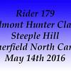 Rider 179 Piedmont Classic Hunters 5-14-2016