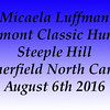 Micaela Luffman Steeple Hill August 6th 2016