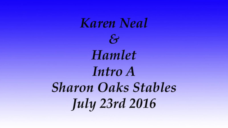 Karen Neal Sharon Oaks July 23rd 2016