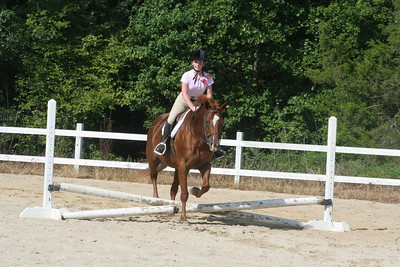 8-21-2016 Hunter Schooling Show Sharon Oaks