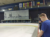 Inside the rink