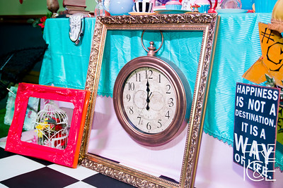 EVENT DESIGN- ALICE WONDERLAND THEMED PARTY