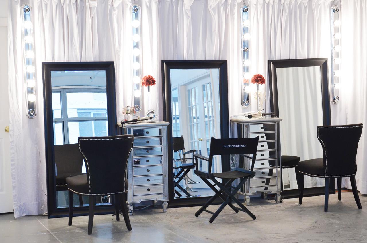 Beauty Studio Set Design