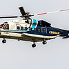 Cougar Helicopters (callsign Cougar 1) Sikorsky S92 landing on runway 23