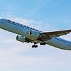 Air Canada AC617 B 767-300 off runway 23 to Toronto YYZ