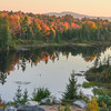 Morancy Pond with Cadillac Mountain in background.
