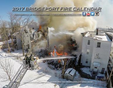 2017 BRIDGEPORT FIRE CALENDAR COVER