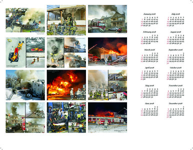 2017 BRIDGEPORT FIRE CALENDAR REAR COVER
