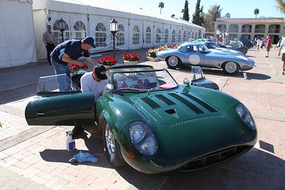 Prepping the XJ13 Replica